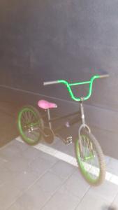 Bmx bike with new tyres