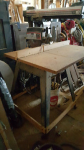 Radial arm saw works great just not using