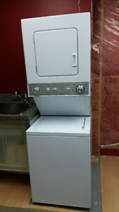 Washer Dryer Whirlpool Stacked– Thin Twin