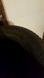 2 tires 205/70R15 Winters