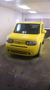 2009 nissan cube! bright yellow