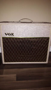 """""""VOX AC15HW1X with Alnico Blue/Pedal/Cover"""" Hand Wired"""