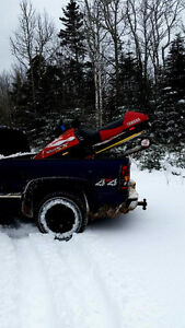 Clean sled ready for you