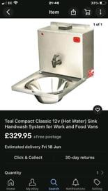 Sink for work shop or campervan