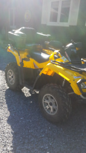 2008 Can-Am 800 Outlander XT-Low km