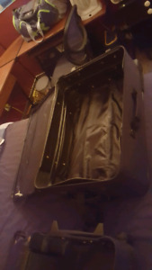 Luggage old but in good shape