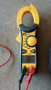 IDEAL CLAMP METER 61-746/EXCELLENT CONDITION/USED