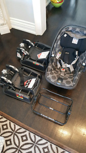 Peg perego primo viaggio sip infant seat with adapters