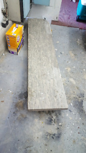 """Marble slab 2"""" x 16"""" x 72"""" used for fireplace mantle"""
