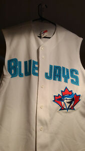 Toronto Blue Jays Sleeveless Jersey from early 2000s