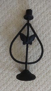 Wrought Iron Candle-holder