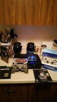 PS3 WITH 2 CONTROLLERS GREAT CHRISTMAS GIFT $250.00
