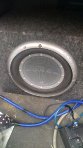 Nice Subwoofer and Amp. Work great!