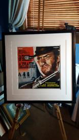 Original framed Lp record/ picture