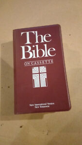 Bible on casettes