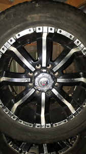 20 inch 8bolt rims and tires