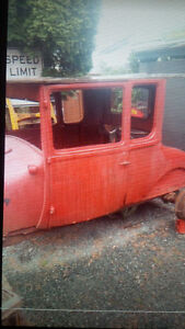 1927 Ford 5 Window Tall T Coupe Project