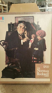 Norman Rockwell Puzzle-Never opened