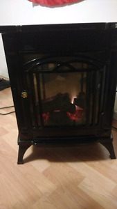 Compact Electric fireplace heater
