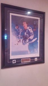 """""""Daryl Sittler"""" , autographed,artist signed and numbered print"""