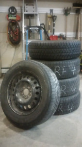 Michelin Latitude X-Ice 225/65 R17 Tires and Rims