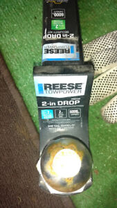Hitch receiver and ball for sale