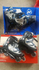 Kids Rollerblads + Gear priced to sell fast