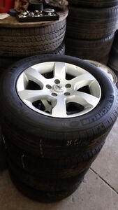 TPMS / 215 60 16 tires 100% tread on OEM Nissan Altima alloys