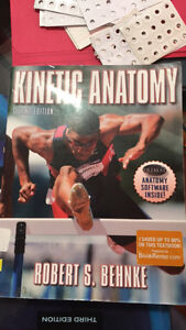 Kinetic Anatomy 2nd edition textbook for sale