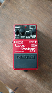 Boss rc-2 looper pedal