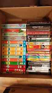 DVD and Blu-Ray Seasons and Video Games