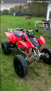 2006 honda trx 450r 3000$ or trade