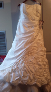 Wedding dress size 16w