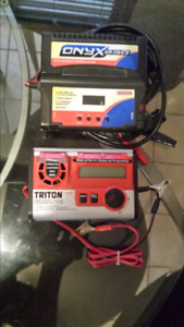 Two lipo rc car chargers