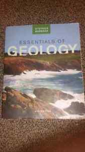 Essentials of geology 4th edition with lab book and labs