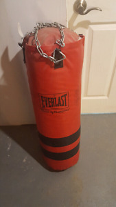 Heavy bag.