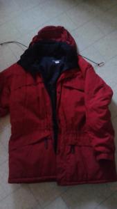 Manteau d'hiver large pour homme