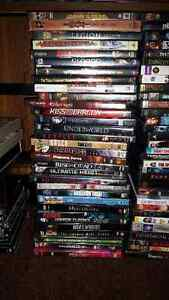 Holiday blow out Large  DVD collection