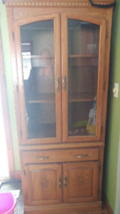 Cabinet / hutch 100 or best offer. Need gone.