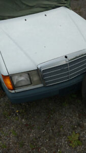 1989 Mercedes 300e and a 1987 Mercedes 300TD for parts