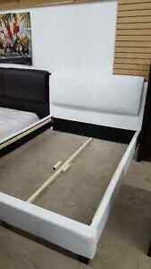 White Queen Bed frame - Delivery Available