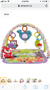 Brand new/Giftable Fisher price musical activity gym/tummy time