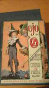 OJO IN OZ BY RUTH plumly copyright 1933 new price 30.00 Belleville Belleville Area image 1