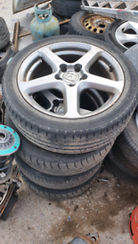 Honda 17 inch alloys alloy wheels