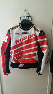 ~FOR SALE  FACTORY HONDA JOE ROCKET BALLISTIC BIKE JACKET~