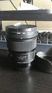 Sigma 24mm f/1.4 DG HSM Art Lens for Canon Wide Angle Mint