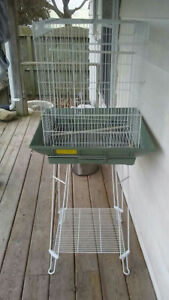 Small to medium sized bird cage