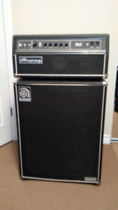 For sale Ampeg SVT 300 Classic head and SVT410hlf cab