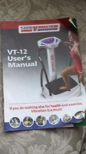 T-ZONE VIBRATION MACHINE