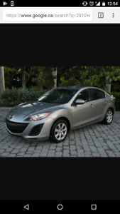 2010 Mazda Mazda3 Sedan Winter tires, Safety including